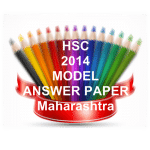 HSC Maharashtra 2014 Model Answers and Marking Scheme