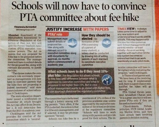 PTA must be convinced fee hike
