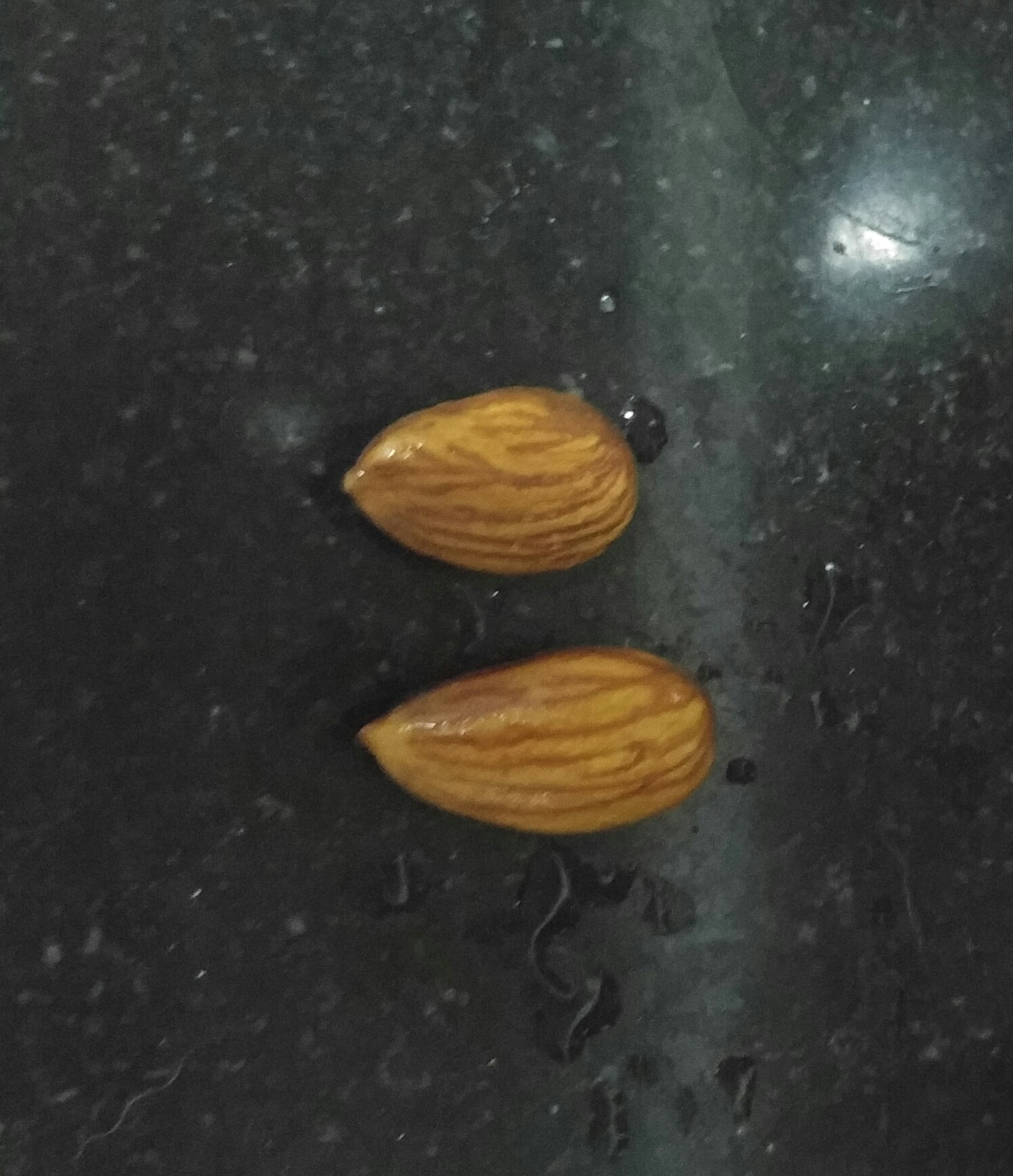 Dry vs soaked almonds