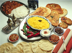 Indian thali Madhurie Singh