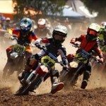 Rugveda wins Motorcross racing